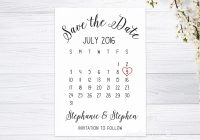 details about save the date cards personalised calendar invitations invites wedding white Save The Date Invites For Weddings