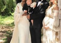 diana rosss son just had the ultimate bohemian wedding Ashlee Simpson Wedding Dress