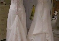 directions for french bustle for wedding dress diy Bustling A Wedding Dress