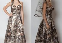 discount 2021 a line halter sweetheart camo wedding dresses with free camo veils for bridal gowns simple morden realtree camo wedding dresses a line Realtree Camouflage Wedding Dresses