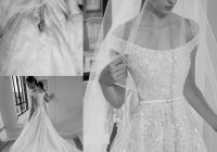 discount elie saab 2020 luxury wedding dresses a line off the shoulder full beads sequins sweep train bridal gowns plus size robe de marie couture Elie Saab Wedding Dresses