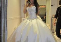 discount ivory bling pnina tornai wedding dress sweetheart ball gowns sparkly crystal backless chapel long train bridal gowns cheap wed dress a line Pnina Wedding Dresses
