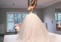 discount princess puffy tulle ball gown wedding dresses beading sweetheart bridal gowns bonine big dress for wedding wedding dress outlet wedding Big Poofy Wedding Dresses