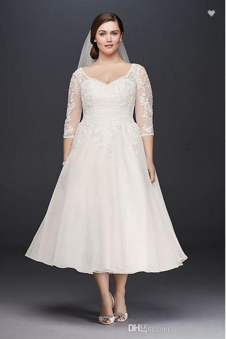 Permalink to 11 Informal Wedding Dresses Tea Length