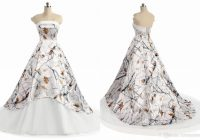 discount white camo wedding dress cheap 2021 new strapless simple designer a line zipper back court train bridal gown new vintage lace wedding dresses Winter Camo Wedding Dress