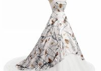discount white camo wedding dresses 2021 strapless lace up corset back realtree camouflage boho beach country bridal wedding gowns custom made gowns Realtree Wedding Dress