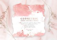 diy geometric watercolor wedding invitation backgrounds clipart table number decorations diy Wedding Invitation Decorations