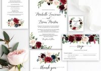 diy wedding invitations how to print your wedding Print Wedding Invitation