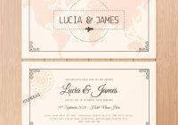 download this free vector two sided wedding invitation in Two Sided Wedding Invitations