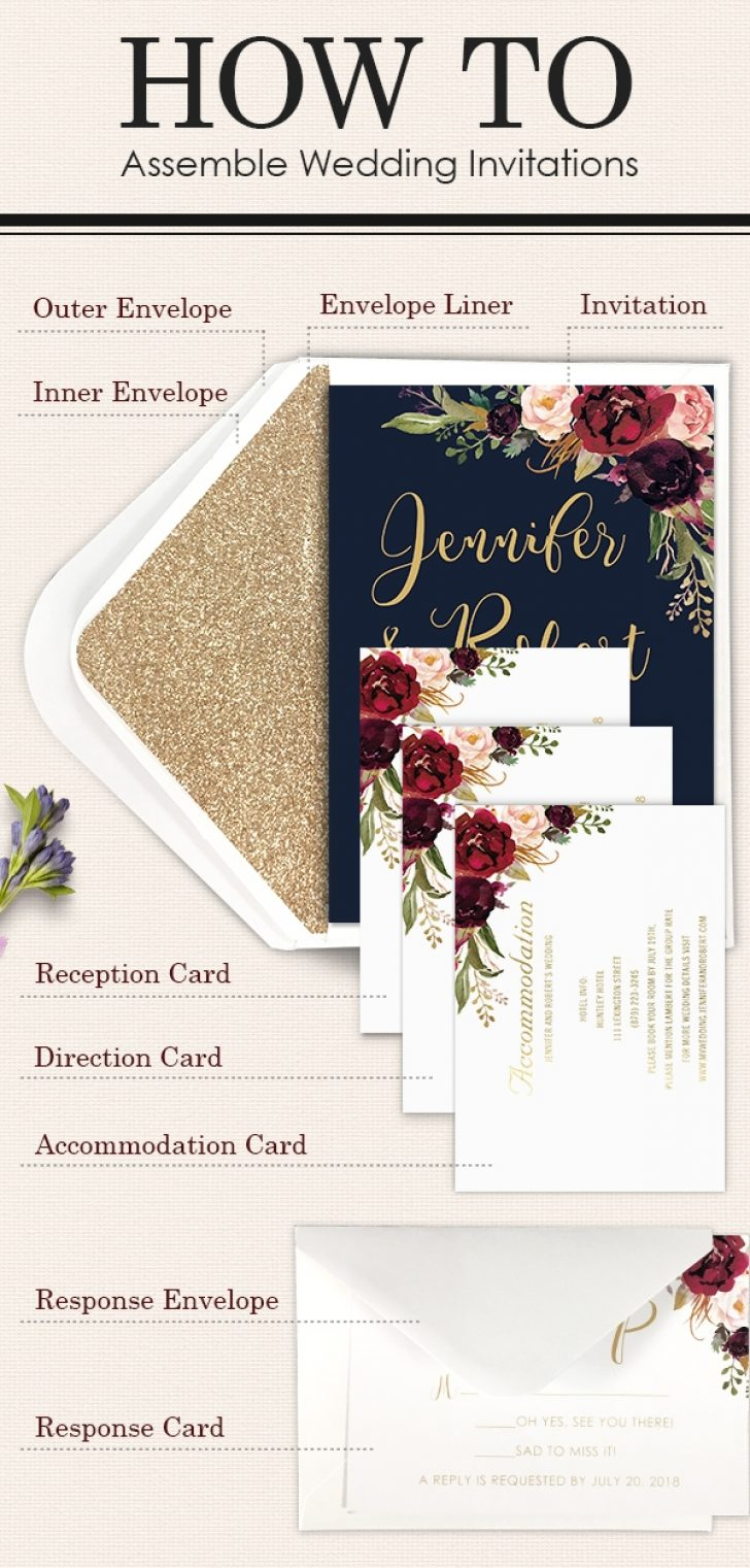 Permalink to How To Stuff Wedding Invitations