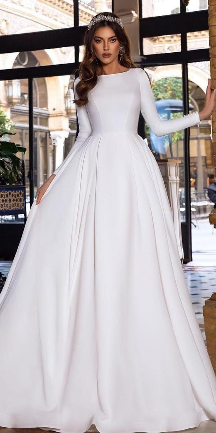 Permalink to Gorgeous Simple Wedding Dresses 2021