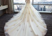 elegant colorful lace princess wedding dresses 2021 african black girls flower off shoulder puffy ball gowns luxury bridal gowns Wedding Dresses Aliexpress