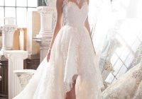 elegant high low wedding dress justin alexander signature Justin Alexander Wedding Dress s