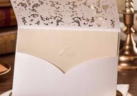 elegant ivory lace detailed laser cut wedding invitations lc001 amaze paperie Lace Design Wedding Invitations