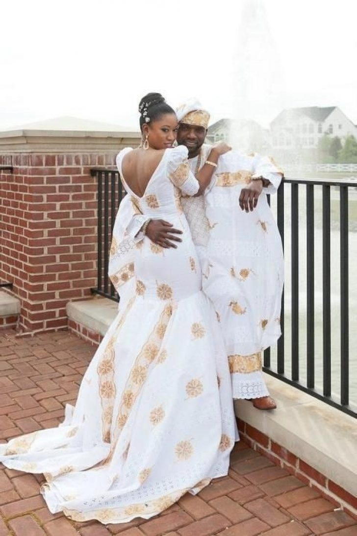 Permalink to Gorgeous Latest African Wedding Gowns Designs
