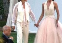 ellen and portia de rossi married in la famous wedding Portia Wedding Dress