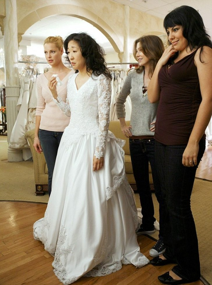 Permalink to Nice Ellen Pompeo Wedding Dress Ideas