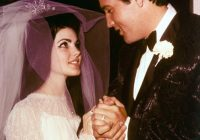 elvis and priscilla presleys las vegas wedding everything Priscilla Presley Wedding Dress