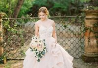 enchanted forest blush bridal shoot hey wedding lady Enchanted Forest Wedding Dress