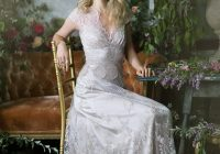 ethereal lace metallics claire pettibone the gilded age Claire Pettibone Wedding Dress s