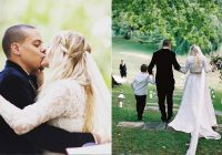 evan ross shares fairytale photos from wedding with ashlee Ashlee Simpson Wedding Dress