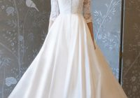 fabric 411 silks white dress bridal boutique Silk Shantung Wedding Dress