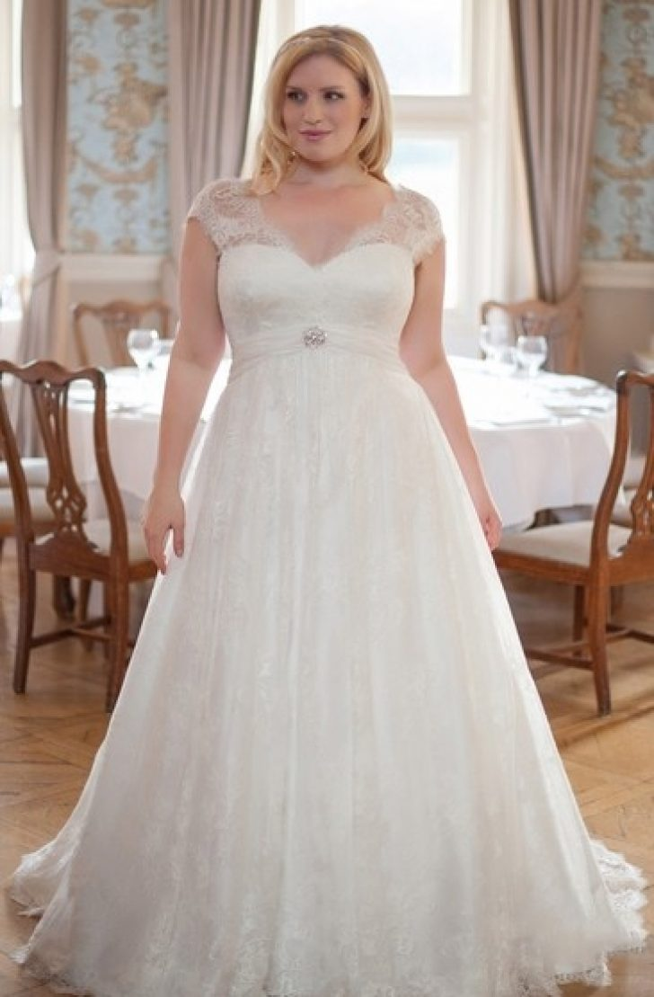 Permalink to Stunning Wedding Dresses For Overweight Brides
