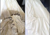 five steps to dry cleaning your wedding dress Pretty To Dry Clean Wedding Dress