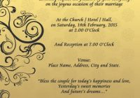 five things to know about invitation cards samples wedding Sample Wedding Invitation Cards