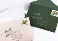 free downloadable return address wedding envelope templates Printing Wedding Invitation Envelopes