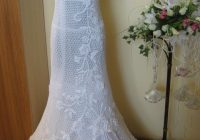 free hand crochet wedding gown crochet pattern for wedding Irish Crochet Wedding Dress Pattern