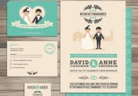 free vector collection of wedding invitations Wedding Invitation Collections
