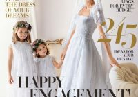 free wedding magazines to jump start your wedding planning Free Wedding Dress Catalogs By Mail
