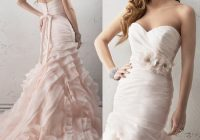 friday favorite blush mermaid wedding dress sorrento Maggie Sottero Blush Wedding Dress