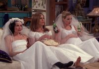 friends 25th anniversary the best friends weddings Monica Geller Wedding Dress
