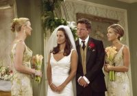 friends costume designer talks weddings 5 secrets we learned Monica Geller Wedding Dress