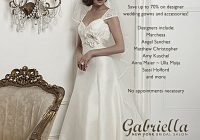 gabriella salon bridal sample sale nyc aylee bits Sample Sale Wedding Dresses Nyc