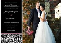 groom style wedding invitations magnetstreet wedding blog Wedding Invitation With Pictures Of Bride And Groom