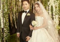 here are the details about taeyang and min hyo rins wedding Tae Yang Wedding Dress