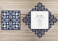 how to create a laser cut wedding invitation in illustrator How To Design Wedding Invitation