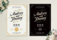 how to design wedding invitations 7 simple steps design shack Cool Wedding Invitations Design