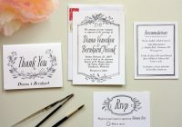 how to diy wedding invitations Where To Print Your Own Wedding Invitations