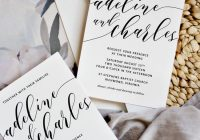 how to make your own wedding invitations pipkin paper company Where To Print Your Own Wedding Invitations