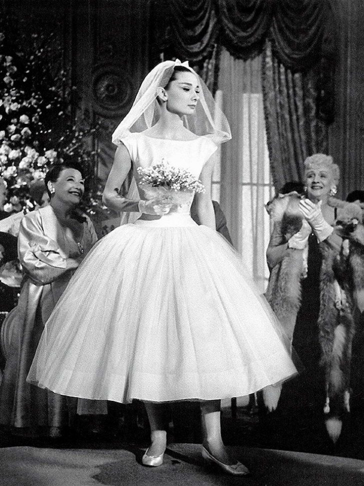 Permalink to Stunning Audrey Hepburn Wedding Dress Funny Face Gallery