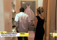 idea of framing the wedding dress you spend so much money Adrienne Maloof Wedding Dress Framed