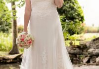 illusion lace french tulle wedding dress in 2020 wedding Plus Size Wedding Dresses St Louis