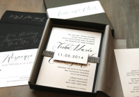 impress brides grooms with your boxed wedding invitations Posh Wedding Invitations