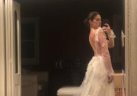 inbal dror wedding dress size 8 for sale white gown Inbal Dror Wedding Dress For Sale