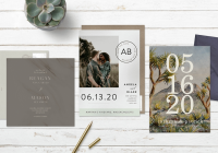 Interesting save the date wording how to announce your big day stationers Wedding Save The Date And Invitation Packages Design