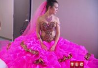 is this the most outrageous wedding dress ever bride on My Big Fat American Gypsy Wedding Dresses